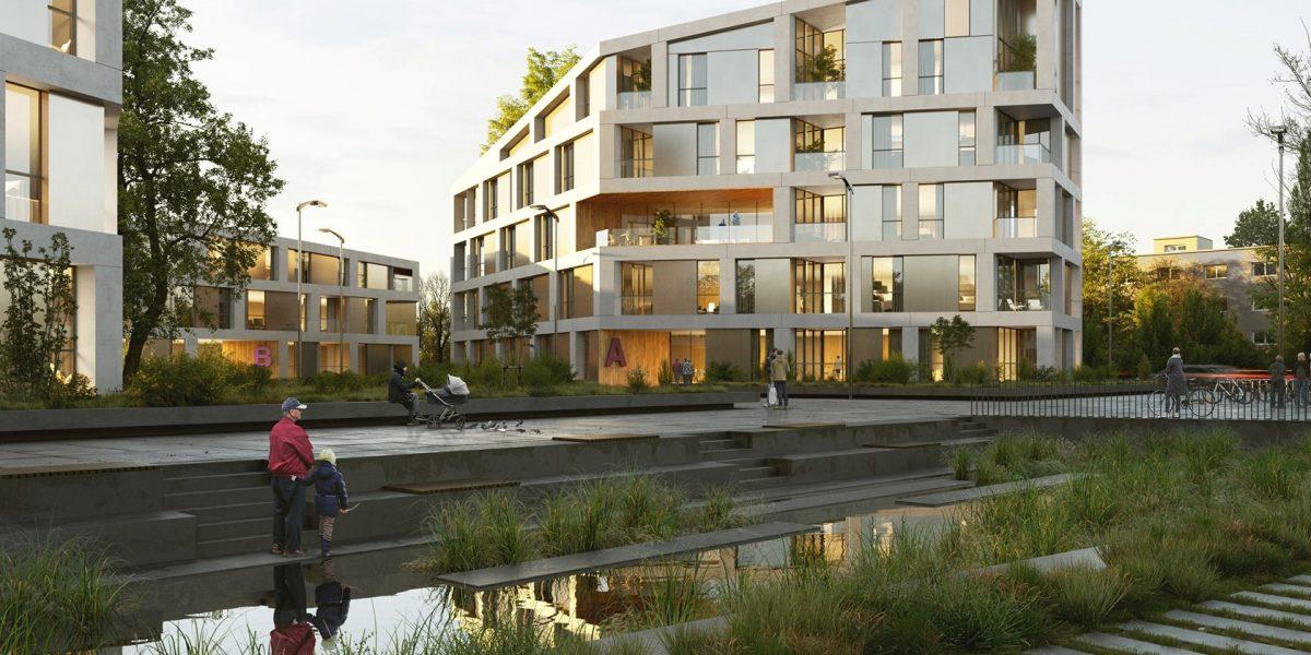 Wohnungsbau Daxlanden | Karlsruhe | Wettbewerb