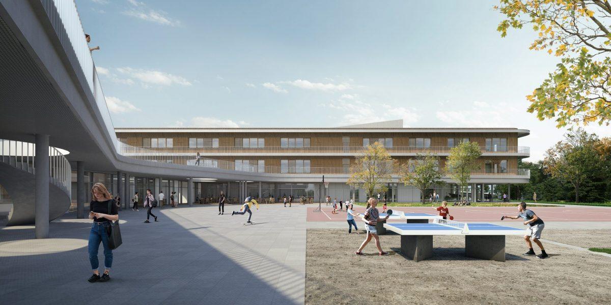 Staatliche Realschule mit Dreifachturnhalle | Kemnath | Wettbewerb