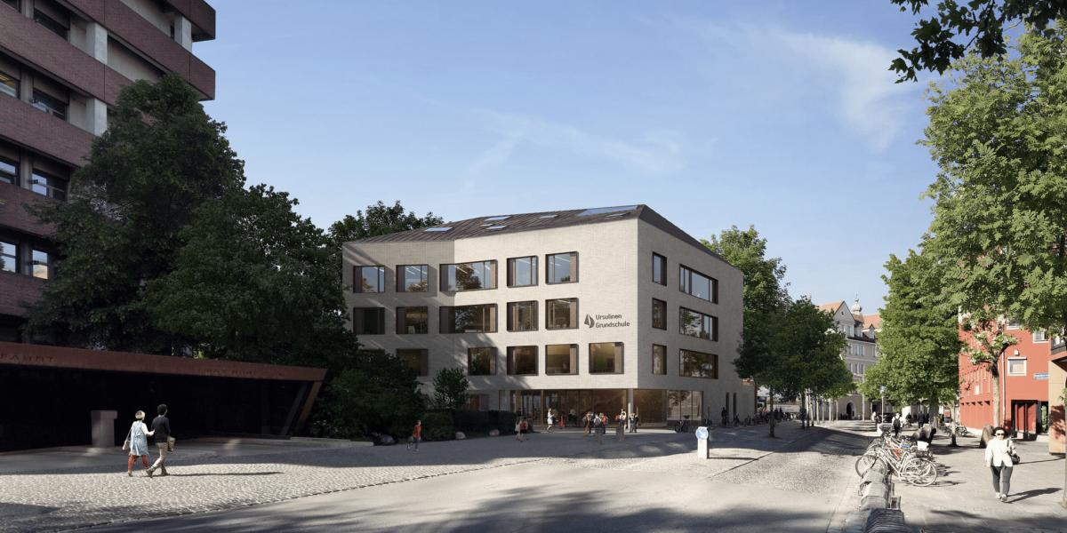 Sanierung und Erweiterung des Ursulinenklosters Teilprojekt: Neubau einer Grundschule | Landshut