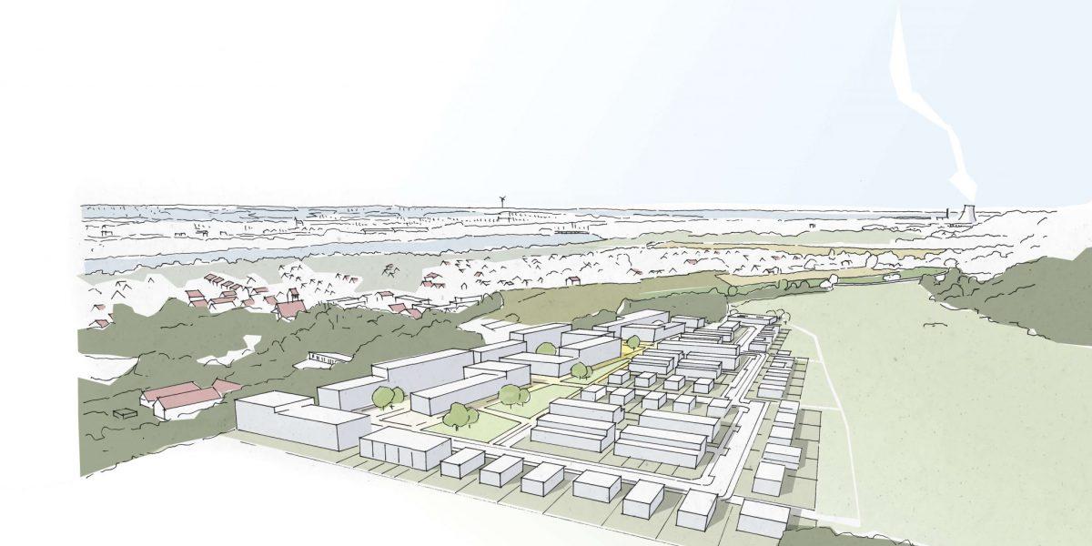 Stadtentwicklung & -Planung Ochsenau | Landshut | Wettbewerb | Anerkennung