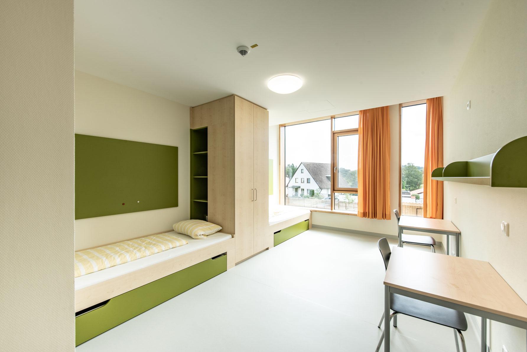 Psychosomatik Kinderkrankenhaus St. Marien - Zweibettzimmer