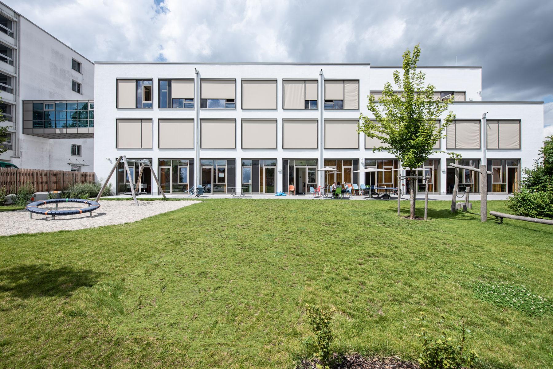 die Psychosomatik des Kinderkrankenhaus St. Marien in Landshut