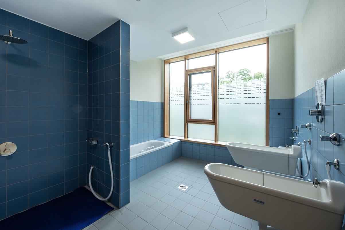 Der Kneipp-Raum in der Psychosomatik des Kinderkrankenhaus St. Marien in Landshut