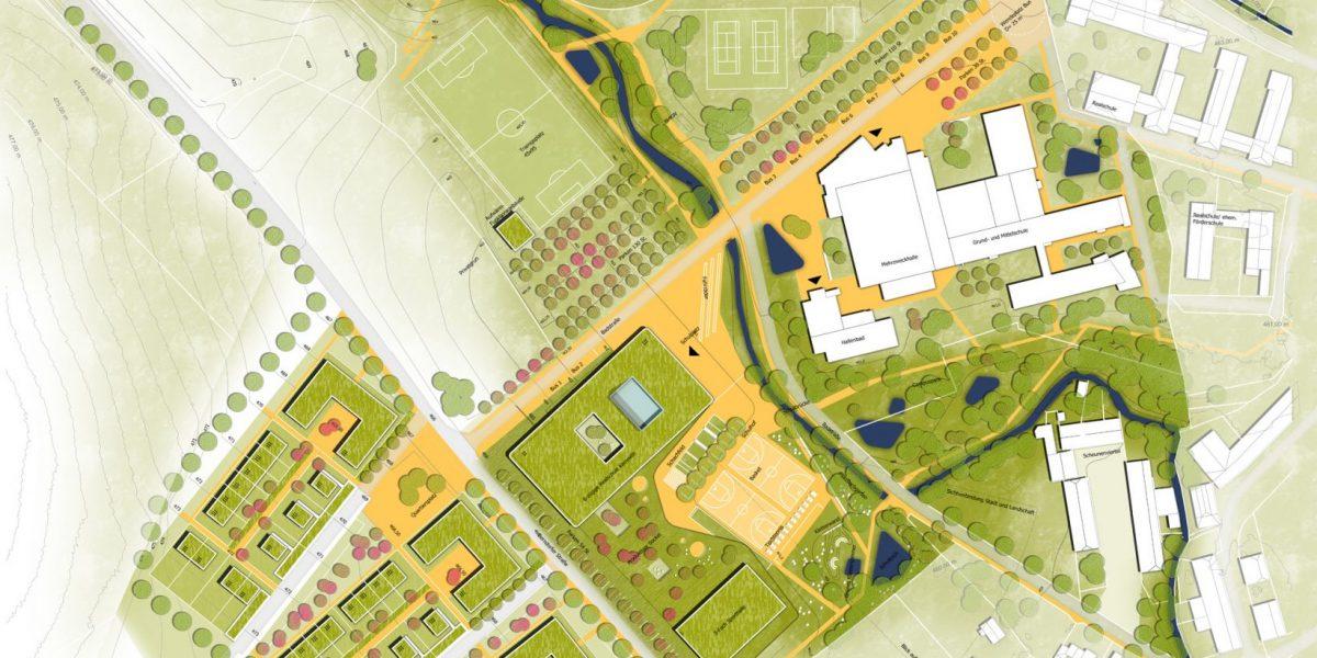 Neubau der Staatlichen Realschule Kemnath mit 3-fach-Turnhalle – Realisierungswettbewerb