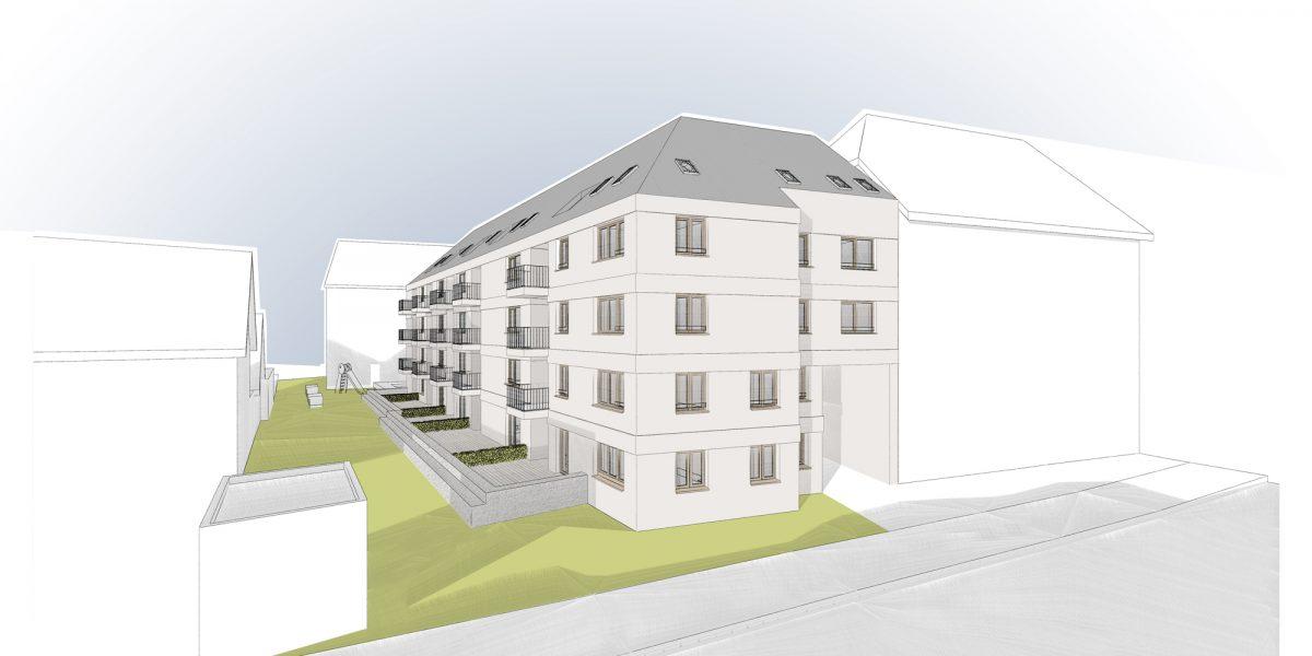geförderter Wohnungsbau Schwestergasse | Landshut