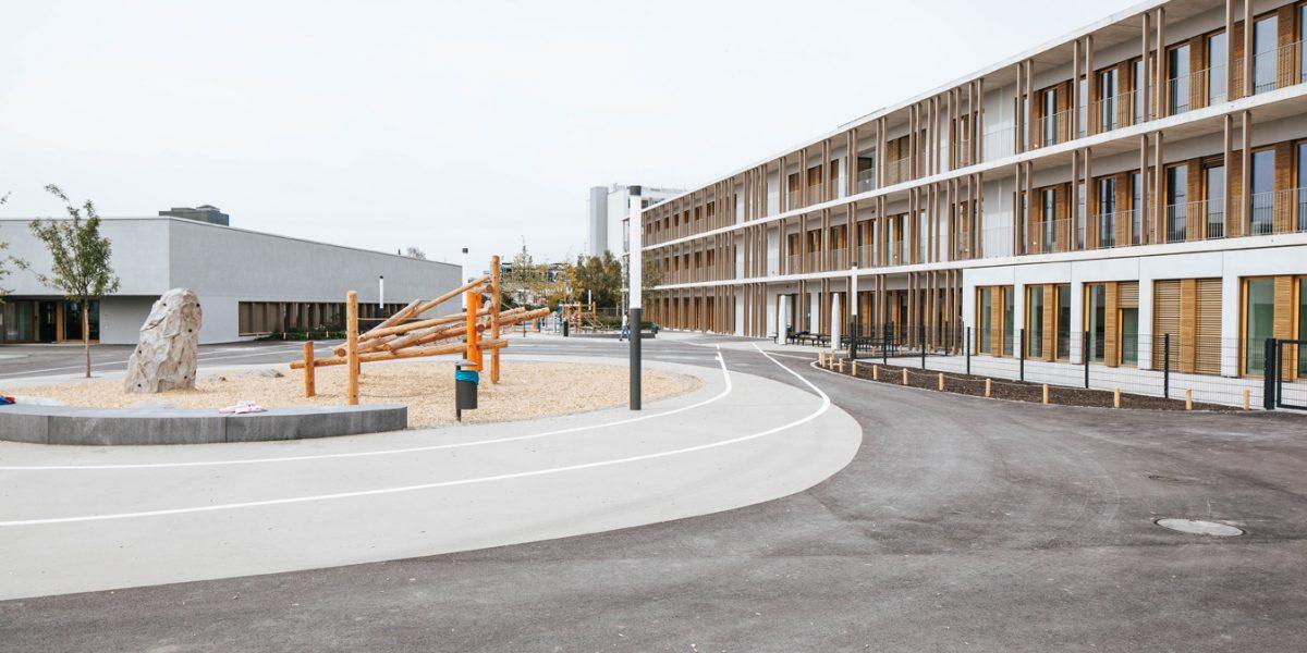 Neubau Grundschule | Bauhausplatz München
