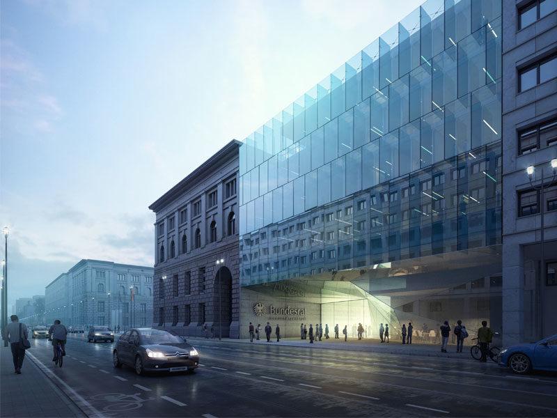 Bundesrat Berlin | Wettbewerb