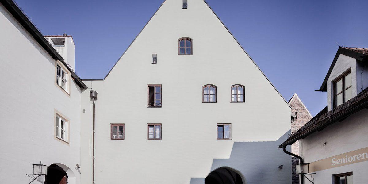 Heilig Geist Stadel Passage | Landshut | Denkmalschutz