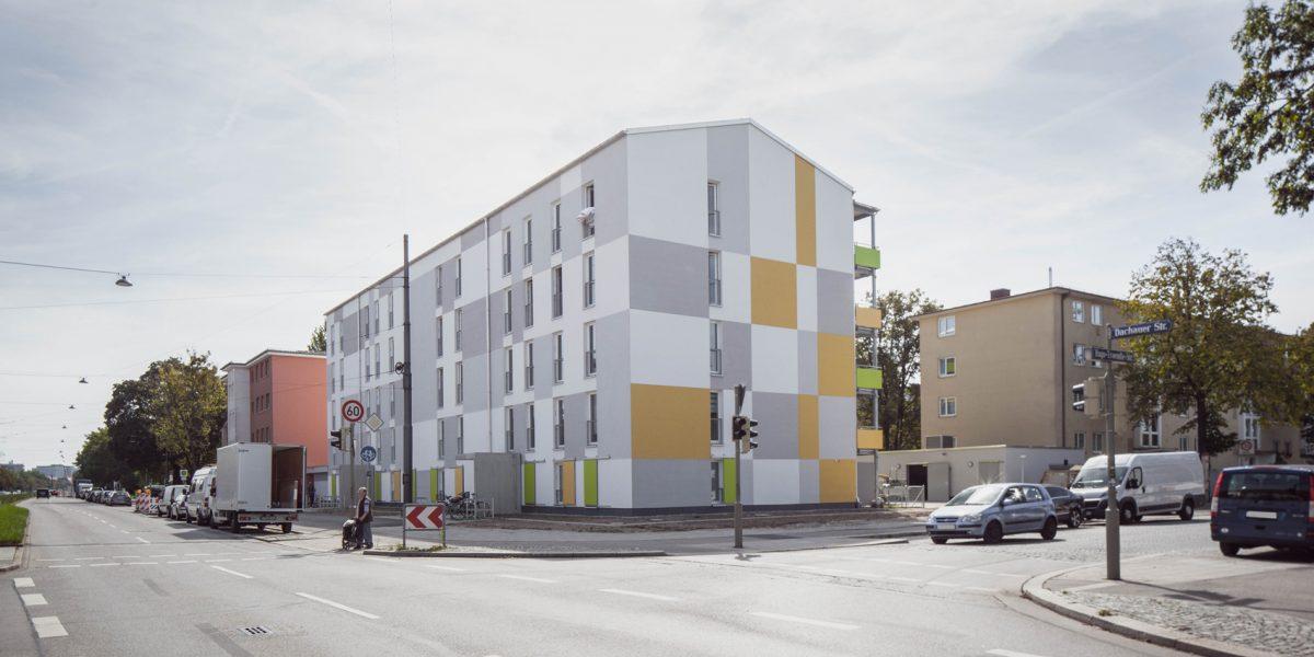 Neubau Wohnungsbau   München-Moosach