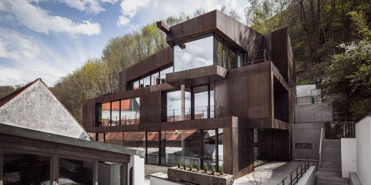 Neubau Büro- und Wohngebäude Nahensteig 188 b | Landshut