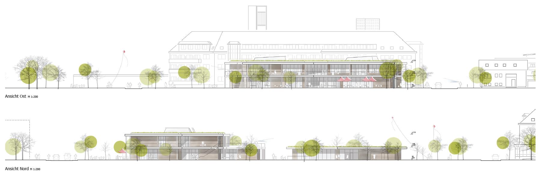 Neubau einer zweizügigen Grundschule auf Spinelli in Mannheim