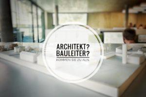 Architekten und Bauleiter gesucht.