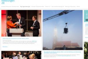 Baustellenfoto des Monats auf architekturmeldungen.de